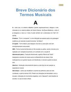 Dicionario de termos musicais by home via slideshare