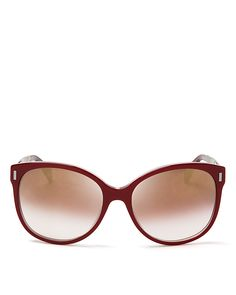 MARC BY MARC JACOBS Mirrored Oversized Sunglasses, 56mm