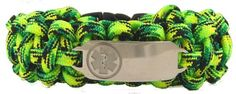 Bright Green Paracord  http://www.designs-by-diana.com/