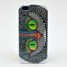 iPhone case study #21  EUR € 3.83 - Tattoo Shining Patroon Eyes Hard Case voor iPhone 5/5S, Gratis Verzending voor alle Gadgets!