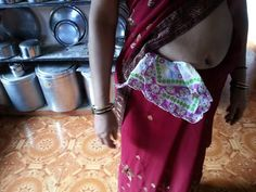 Photo in Women tucking handkerchief is saree waist - Google Photos Saree, Google, Photos, Women, Pictures, Sari, Saris, Sari Dress, Half Saree