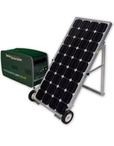 The PowerSource 1800 is the perfect solar generator for emergency backup power. The rapid-charge solar panel supplies electricity to the backup power unit so you can keep your lights and appliances running even when the electricity goes out. How Solar Energy Works, Solar Energy For Home, Solar Power Energy, Emergency Generator, Solar Generator, Emergency Power, Emergency Preparedness, Solar Panel Cost, Solar Panels For Home