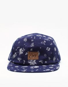 Yuma 5 Panel Hat // Obey