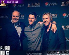 God's Not Dead - Winning the 2014 K Love award for #1 Film/Television Impact in Nashville, Tennessee - Pure Flix - Christian Movies - #PureFlix #ChristianMovies #DavidARWhite #ShaneHarper #GodsnotDead #GodsnotDeadMovie #KLoveFanAwards www.PureFlix.com www.GodsNotDead.com 1 Film, Shane Harper, Beloved Movie, Gods Not Dead, Christian Movies, Nashville Tennessee, Celebrity Crush, Awards, Tv Shows