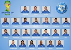 Greece's national football team head coach Fernando Santos offered no surprise selections in his squad for next month's 2014 FIFA World Cup in Brazil Fifa World Cup 2014, Brazil World Cup, Lionel Messi, Ipswich Town, Brazil Travel, National Football Teams, Squad, Greece, Soccer