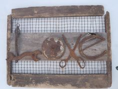Love Sign Made From Old Tools and Barn by Coldwatercreatives, $105.00
