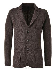 Love the dandy cut of this wool blazer.