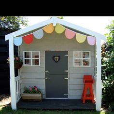 Perfect little cubby house.