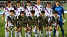 Equipo de Républica de Corea en el mundial