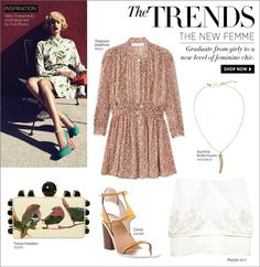 Shop Summer's Best Feminine Fashion at #ShopBAZAAR