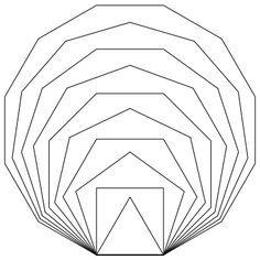Geometric Shape Line-up Geometric Drawing, Geometric Form, Geometric Designs, Doodle Drawing, Form Drawing, Geometry Art, Sacred Geometry, Zentangle, Platonic Solid