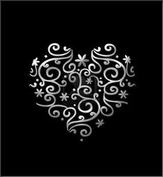 This would be an awesome tattoo in white!