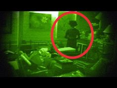 GHOST hiding in basement--(CAUGHT on VIDEO)--SCARY...this actually did scare the shit outta me