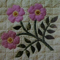 Block 8 from Wildflowers Quilt   Flickr - Photo Sharing!