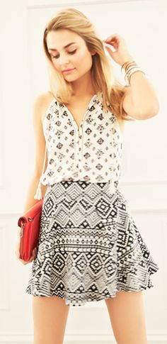 Love the print mixing!