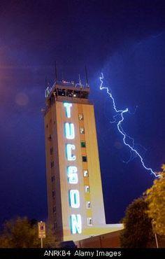 TUcson Control tower. Tucson intl airport