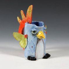 Parrot Pen Holder