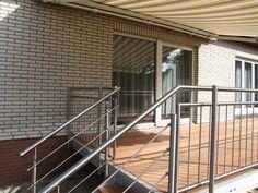 Terrasse Balkon Anbaubalkon + Wangentreppe Außentreppe verzinkt | eBay