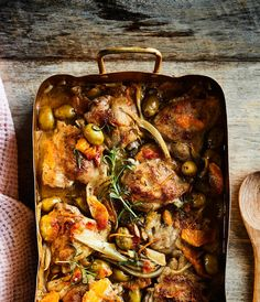 Talven raikkain uunikana on ehkä myös helpoin Flank Steak, Gnocchi, Paella, Chicken Wings, Risotto, Food And Drink, Lunch, Meals, Dinner