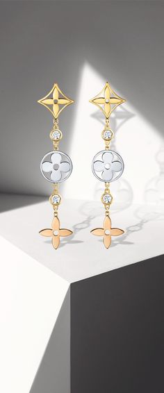 For the woman who dazzles: the Louis Vuitton Monogram Fine Jewelry Collection