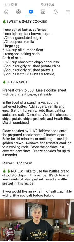 Bar Cookies, Cookie Bars, Farm Stand, Chocolate Cups, Granulated Sugar, Salted Butter, Sweet And Salty, Brown Sugar, Baking Soda