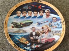 #Thunderbirds are go #collectors #plate,  View more on the LINK: 	http://www.zeppy.io/product/gb/2/162054074725/