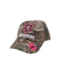 Browning Sweetheart Mesh Back For Her - Realtree Xtra/Hot Pink