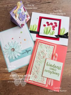 May Tutorials, Everything Is Rosy & Gifts - Stamp Your Art Out! Fun Fold Cards, Cute Cards, 70th Birthday Card, Paper Pumpkin, Ink Pads, Color Card, Stamping Up, Everything, Card Making