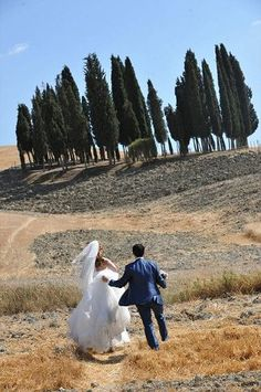 Beautiful landscape near San Quirico D'Orcia (Tuscany), province if Siena