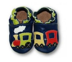 ekoTuptusie Ciuchcia Granat :) Soft Sole Shoes Navy Choo-Choo :) https://fiorino.eu/