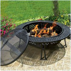 CobraCo Diamond-Mesh Fire Pit