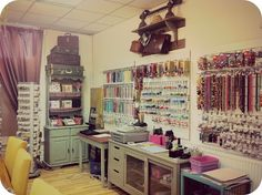 Sharing your jewellery making skills: Teaching I teach jewellery making at my local bead shop in Manchester in the UK, Bead Organization, Bead Storage, Craft Room Storage, Storage Ideas, Craft Room Decor, Craft Room Design, Craft Rooms, Bead Studio, Bead Shop