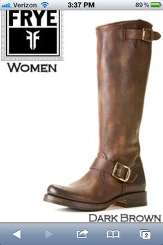 Frye boots LOVE!