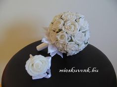 Hófehér menyasszonyi csokor (M) - mieskuvonk.hu