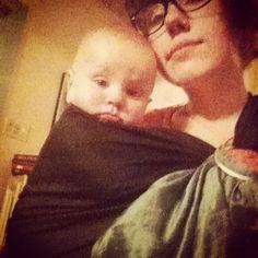 via instagram #sakurabloom #babywearing