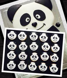 Bolachas decoradas Panda Canal panda