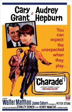 Charade (1963)  ..Cary Grant & Audrey Hepburn..