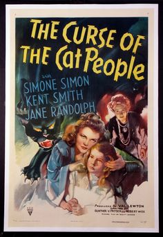 The Curse of the Cat People posters for sale online. Buy The Curse of the Cat People movie posters from Movie Poster Shop. We're your movie poster source for new releases and vintage movie posters. Old Movie Posters, Classic Movie Posters, Classic Horror Movies, Classic Films, Scary Movies, Old Movies, Vintage Movies, 1940s Movies, Simone Simons