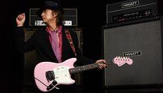 "Fender Custom Shop Char Signature Mustang® ""Pinkloud"" zicca.net"