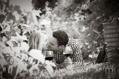 www.mkPhoto.com [Documenting Life] A vineyard engagement session is a great way to spell romance