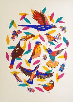 'Birds & Bugs' - Margaux Carpentier