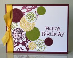Stampin' Up! Card  by Krystal's Cards and More: 2012