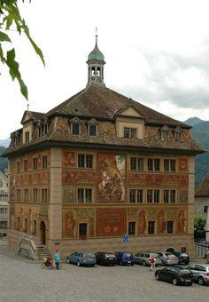 Schwyz CH, Rathaus
