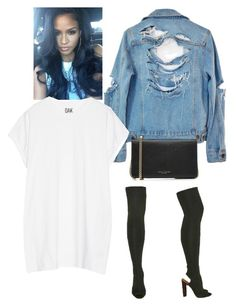 """""""Yeezy Season 2 """" by styledbyt on Polyvore featuring High Heels Suicide, YEEZY Season 2, Oak and Marc Jacobs"""