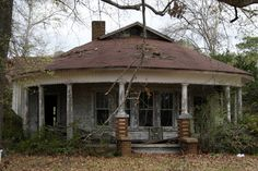 side view of front area of house near many, louisiana | by Exquisitely Bored in Nacogdoches