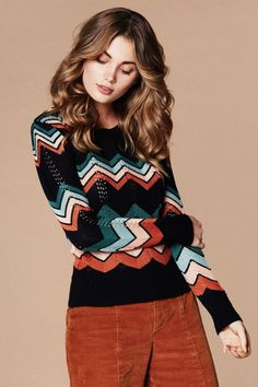 ZigZag 70's Sweater