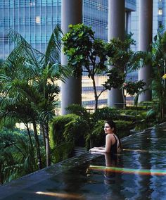 #ECOHOTELS #SWD #GREEN2STAY PARKROYAL on Pickering Hotel, Singapore  No #rainbows without rain. Colour your life and embrace the weekend! #parkroyalgetaways #parkroyalpickering 📷:@iuliiapetriv — at PARKROYAL on Pickering Hotel, Singapore. http://www.green2stay.com/asia-pacific-eco-hotels