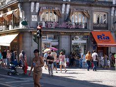 La Mallorquina. Situada en la Puerta del Sol. Fundada en 1894.