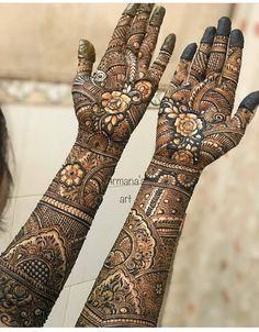Full Mehndi Designs, Pakistani Henna Designs, Khafif Mehndi Design, Wedding Mehndi Designs, Mehndi Design Pictures, Mehndi Images, Henna Tattoo Designs, Mehandi Designs, Henna Mehndi