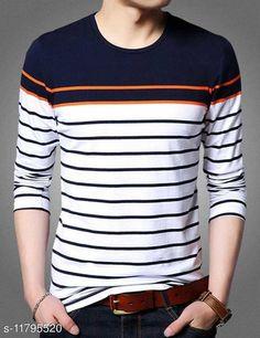 Sweatshirts Mens T-shirt Fabric: Cotton Sleeve Length: Long Sleeves Pattern: Striped Multipack: 1 Sizes: S (Chest Size: 36 in, Length Size: 28 in)  XL (Chest Size: 42 in, Length Size: 28 in)  L (Chest Size: 40 in, Length Size: 28 in)  M (Chest Size: 38 in, Length Size: 28 in)  XXL (Chest Size: 44 in, Length Size: 28 in)  Country of Origin: India Sizes Available: S, M, L, XL, XXL   Catalog Rating: ★4 (443)  Catalog Name: Trendy Elegant Men Sweatshirts CatalogID_2235184 C70-SC1207 Code: 673-11795520-198